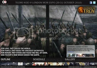 TECMO KOEI EUROPE @ LONDON MCM EXPO OCTOBER 2010