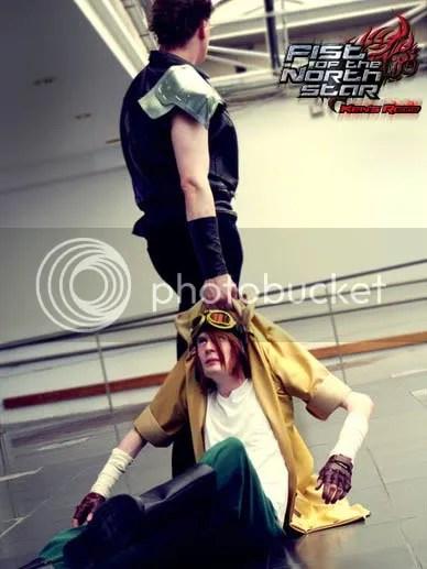 Kenshiro & Bat Cosplay