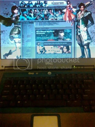 A laptop that leads me to TECMO KOEI journey.
