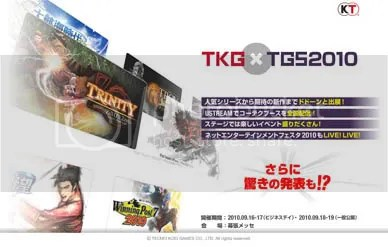 TECMO KOEI - TOKYO GAME SHOW 2010