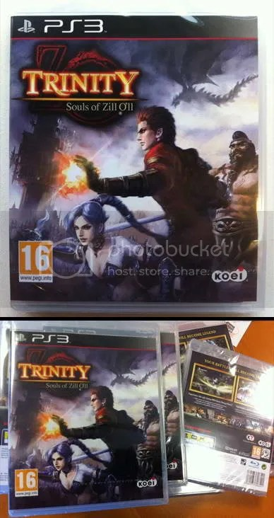 Trinity: Souls of Zill O'll / PS3
