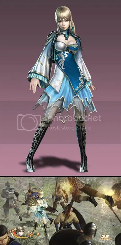 Wang Yuanji - Dynasty Warriors 7