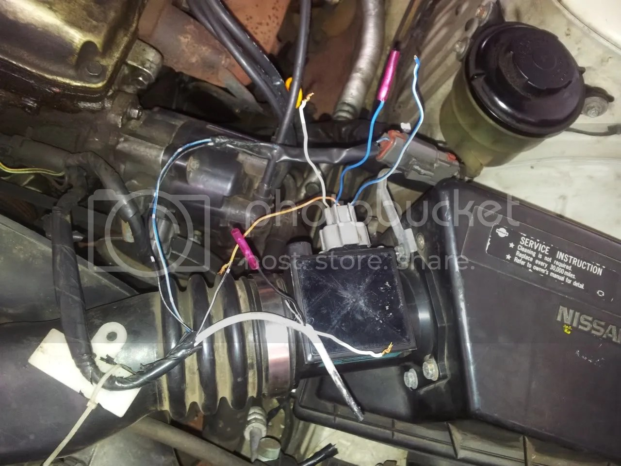 hight resolution of zenki how to fix this wiring harness nissan 240sx forums