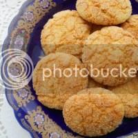 Ghriba djal smida: Griesmeelkoekjes met kokos of venkel.