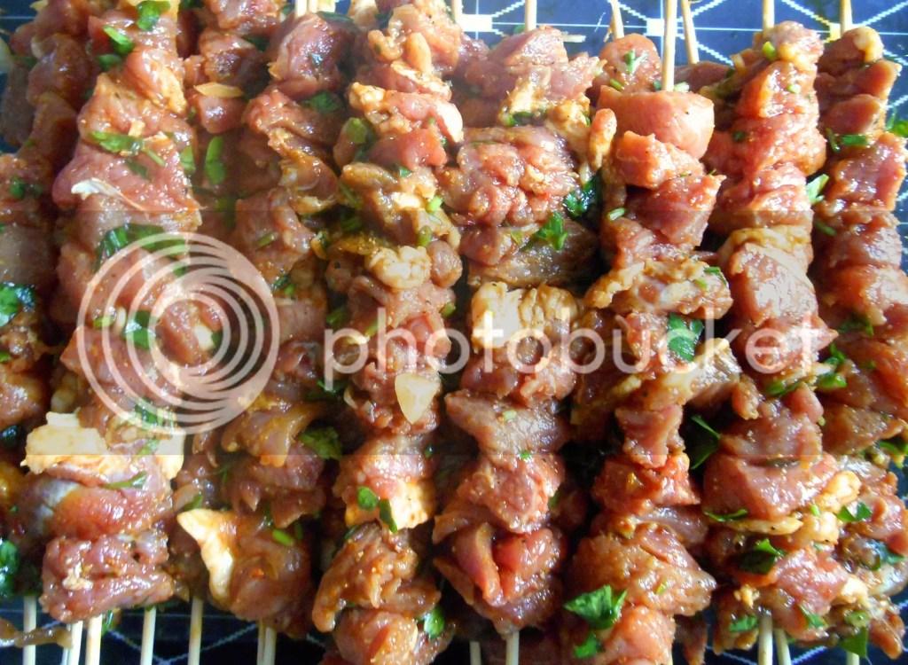 moroccan shwa , kebab