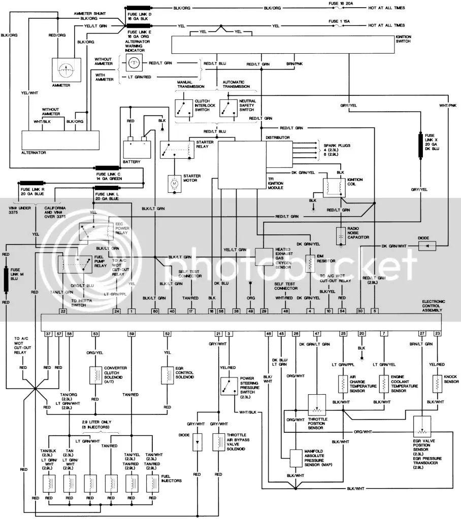 eefi wiring diagram the ranger station forums