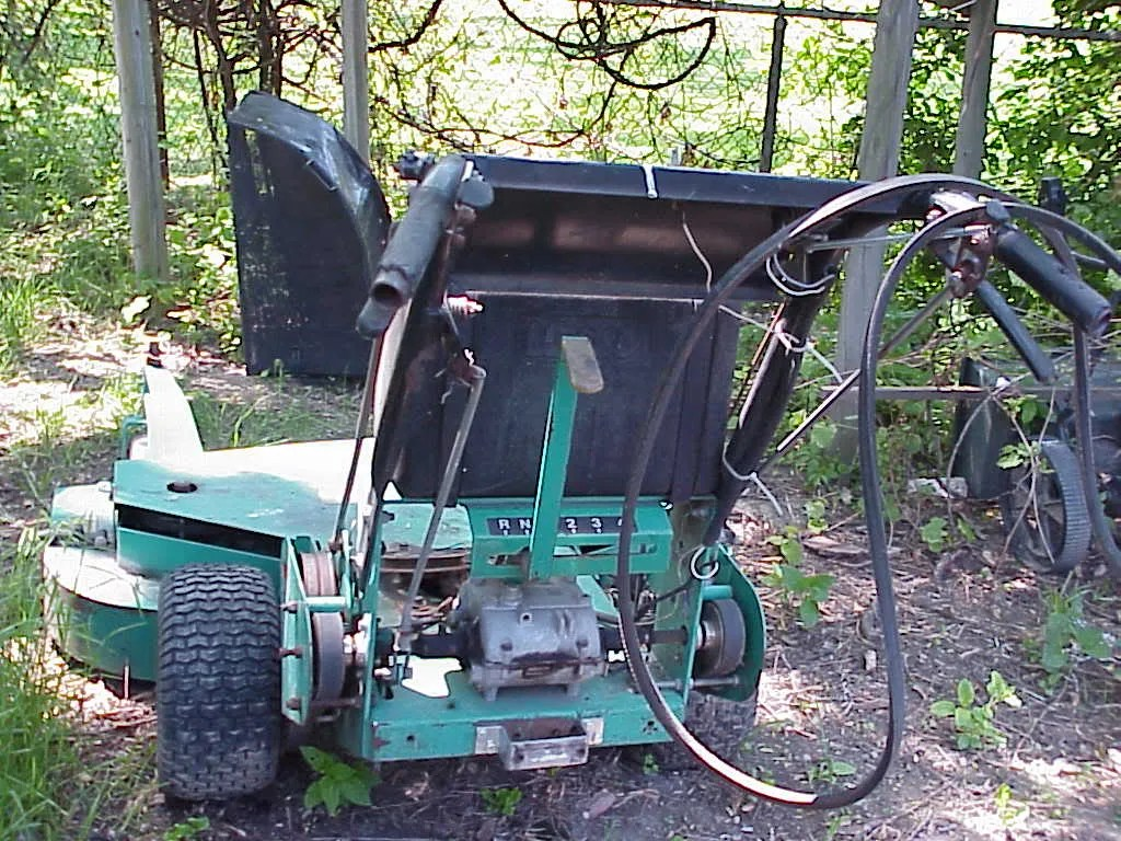 hight resolution of  lesco commercial mowers lesco ransome bobcat commercial 48 deck walk behind