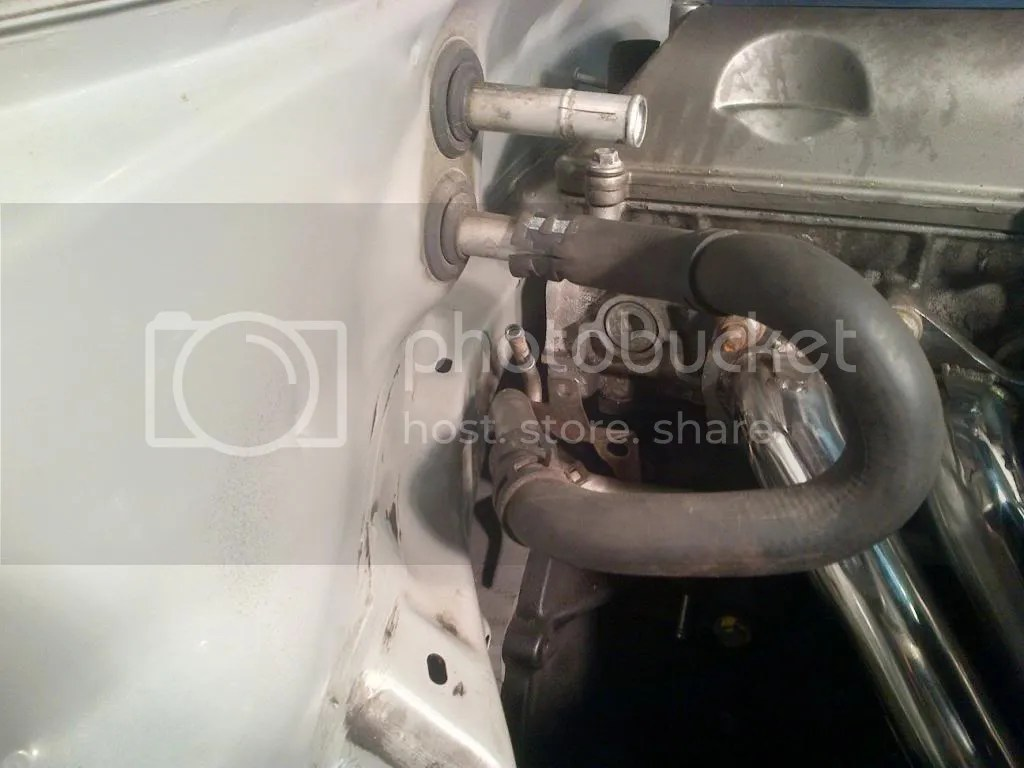 hight resolution of i used my oem engine mounts you can see how close the head is to the fire wall jzx110 shifter location is close about 2 back from center but good enough