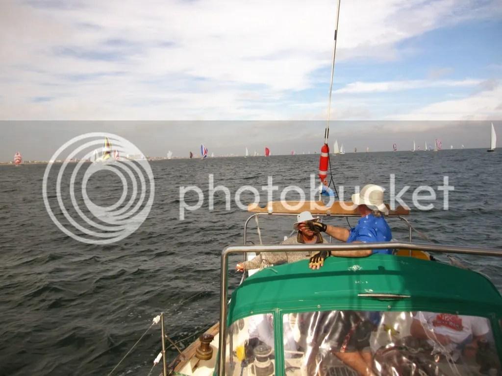 2013 Harvest Moon Regatta spinnaker boats