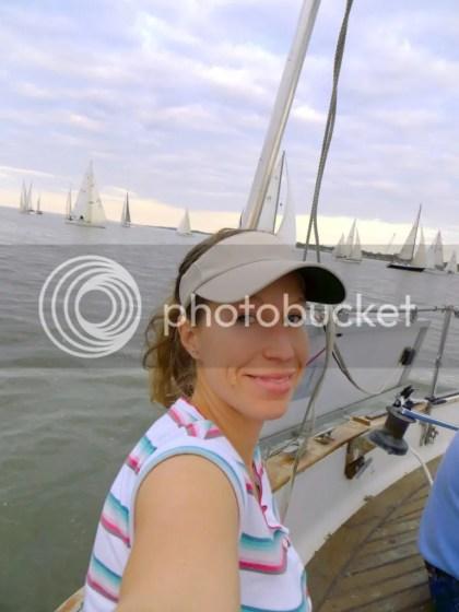 Dani's selfies in Sundowner's First race