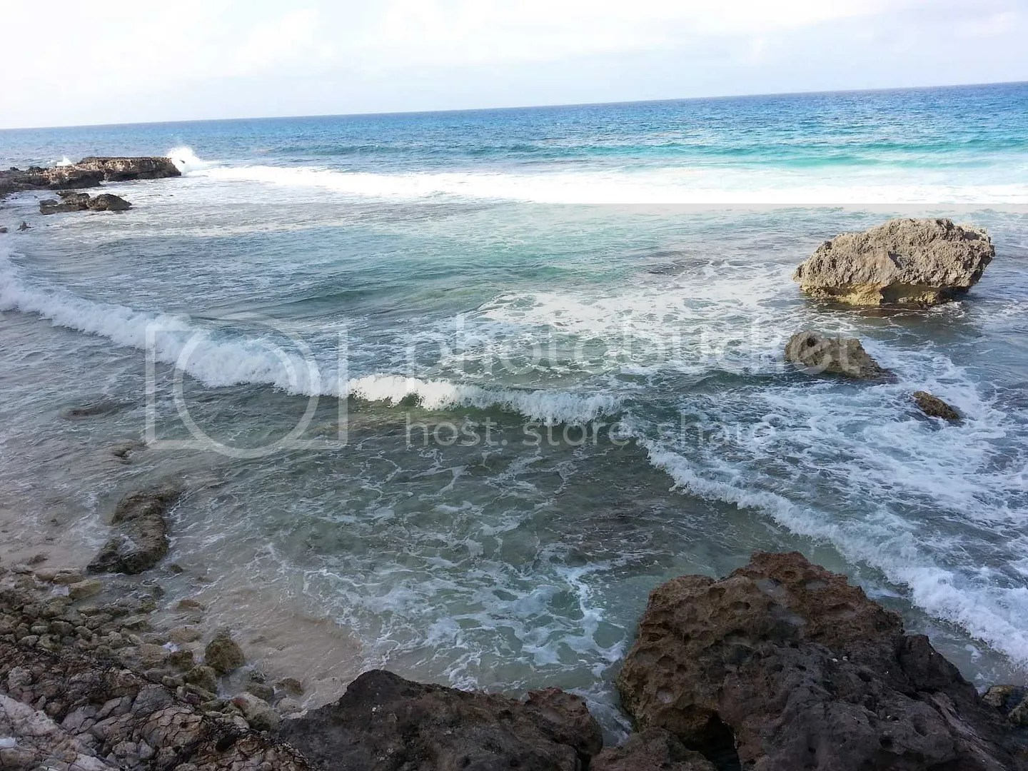 Beautiful Ocean Picture East side of Island