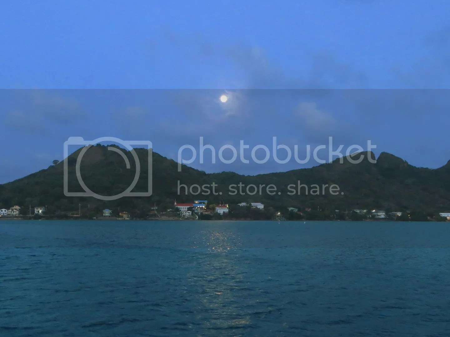 Full Moon over Providencia