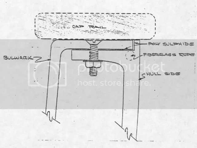 W32 caprail joint diagram