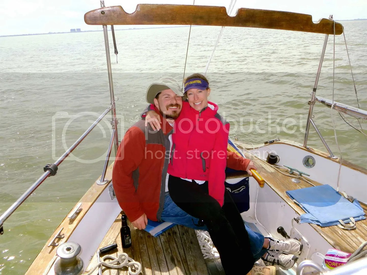 Tate and Dani finally sailing again