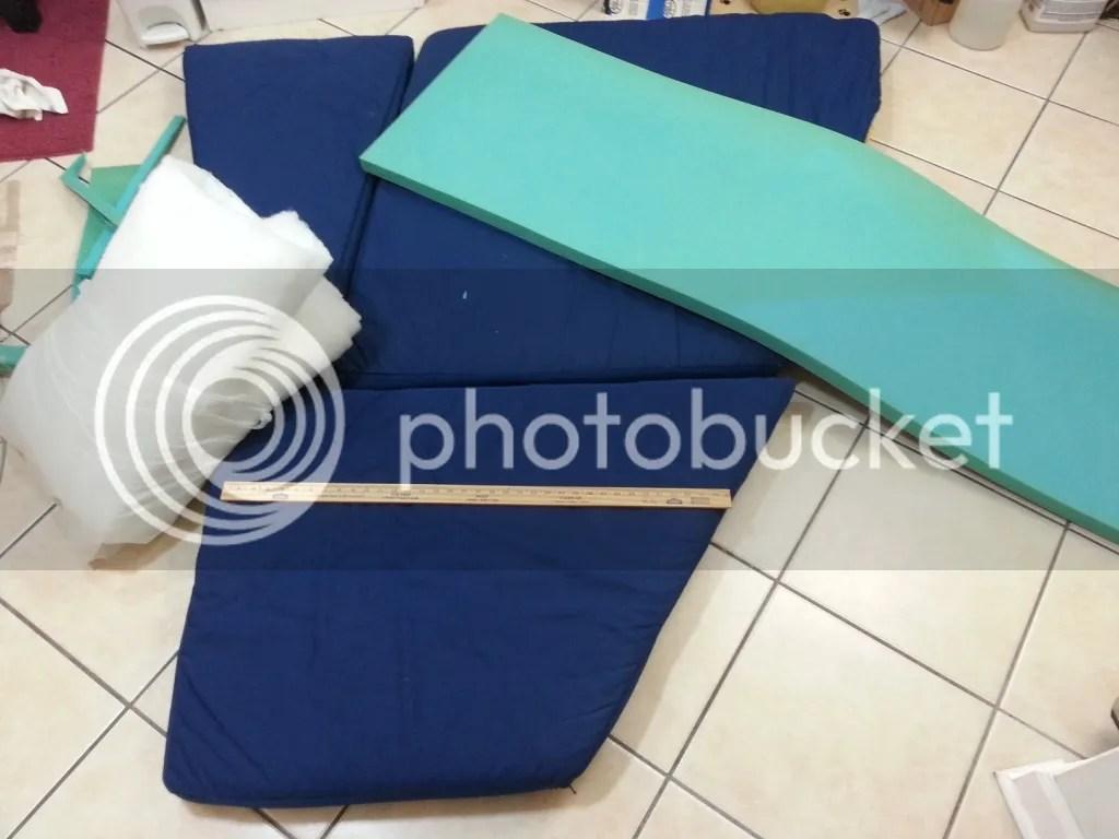 V-berth Cushion Foam 1