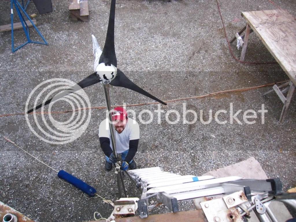boomkin wind generator off