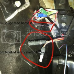 1966 Mustang Dash Light Wiring Diagram Led Toggle Switch 66 Coupe C4 Underdash Question/picture - Vintage Forums