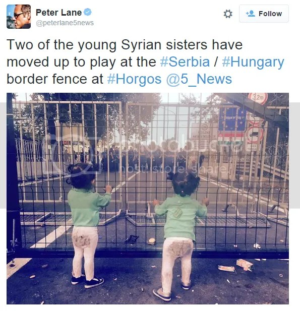 Kinder auf der Flucht