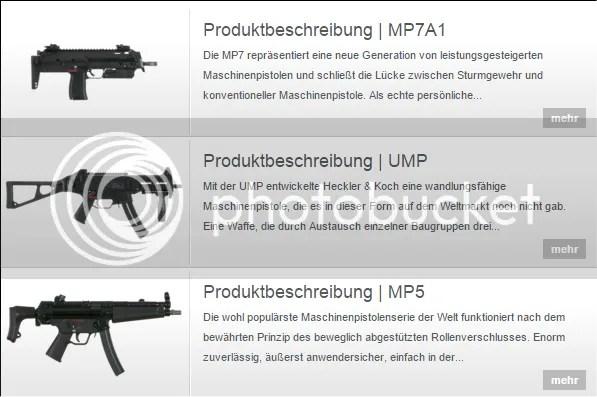 Heckler & Koch - Maschinenpistolen