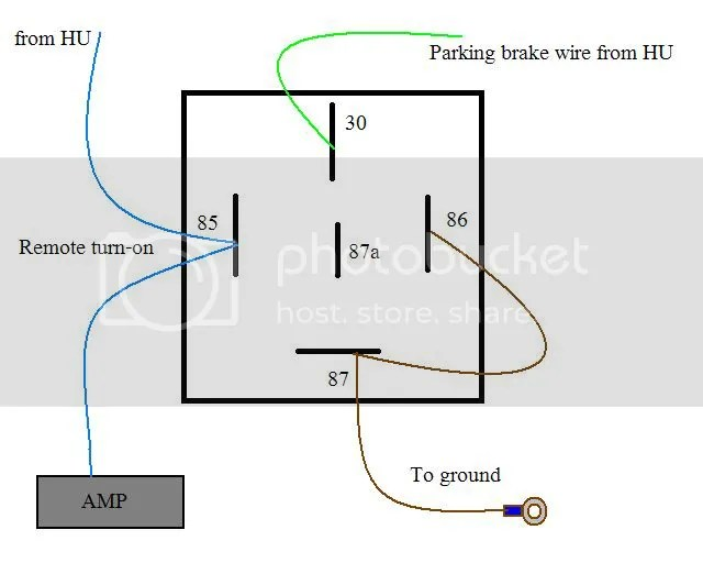 banshee wiring diagram help latching lighting contactor with pioneer avh-2300dvd parking brake lead - page 2