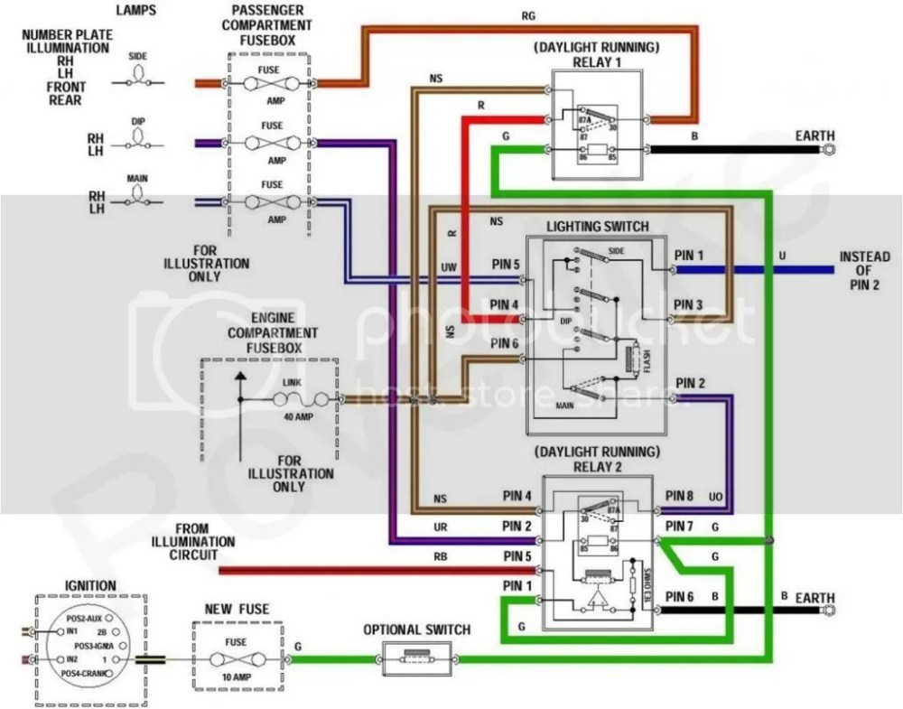 medium resolution of here is the diagram how you need to install additional electric equipment if you would like