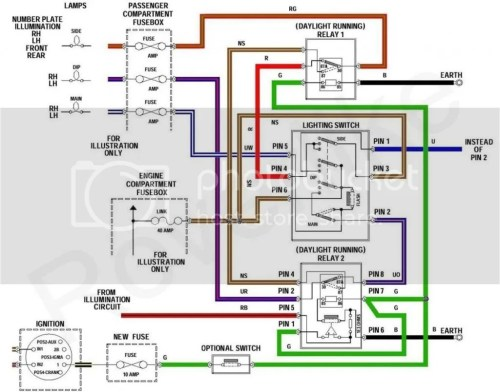 small resolution of here is the diagram how you need to install additional electric equipment if you would like