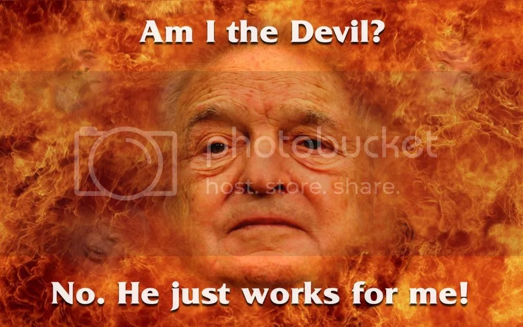 Image result for George Soros...ONE BAD DUDE