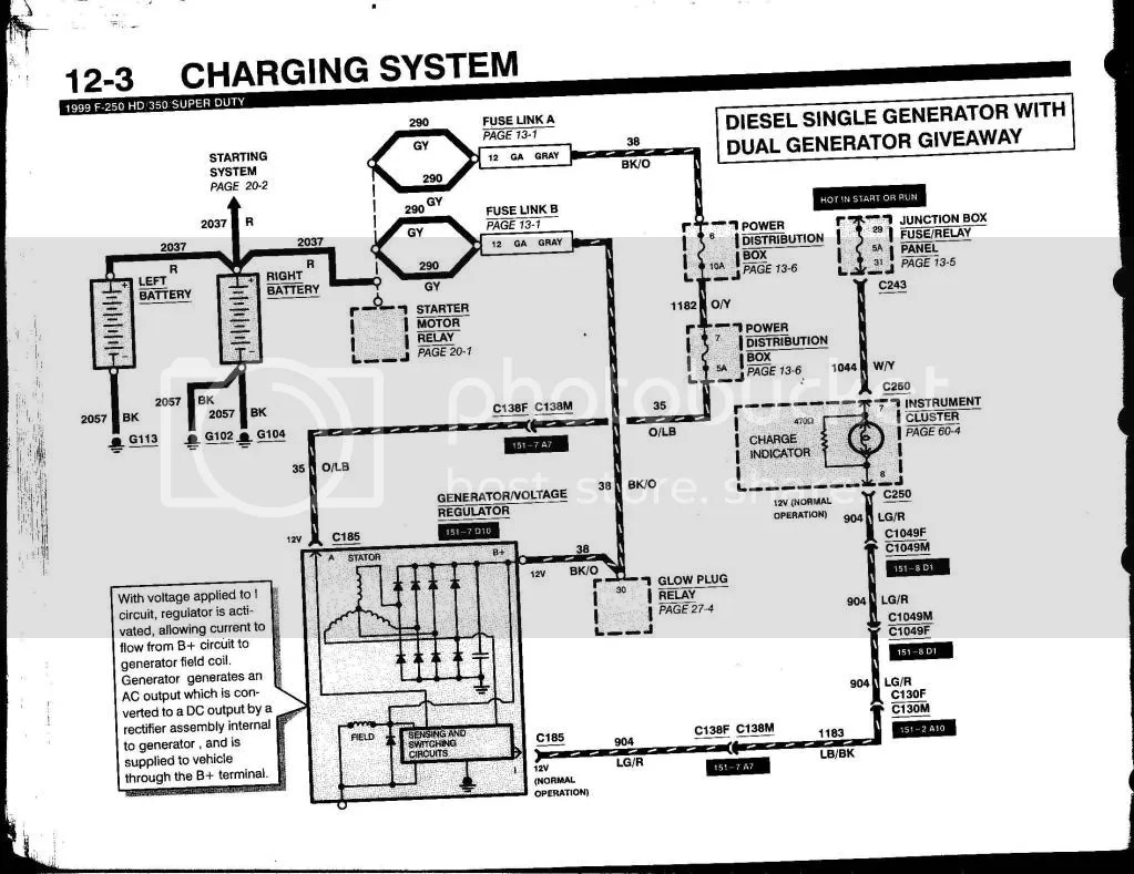 Wiring Diagram Dodge Ram 2500 Charging System