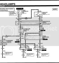 2000 ford f350 headlight wiring diagram 99 f simple wiring diagram 1994 ford f 150 [ 1023 x 789 Pixel ]