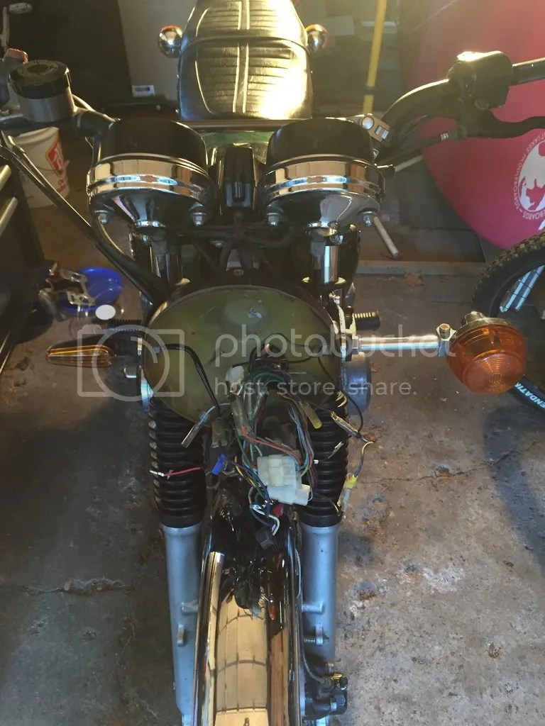 hight resolution of on a side note i need to find a new location for the turn signals as the new style led doesn t tighten up enough in the mount for the headlight and the