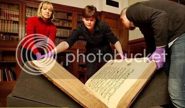 3 1 Al Quran Berusia Melebihi 500 Tahun