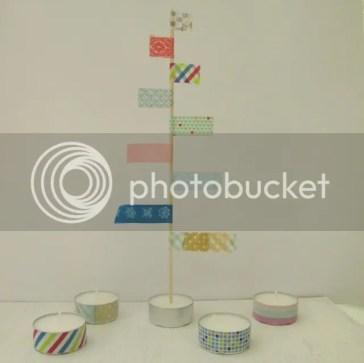 Decoracion washi tape arbol navidad decorar arbol navidad ideas deco6