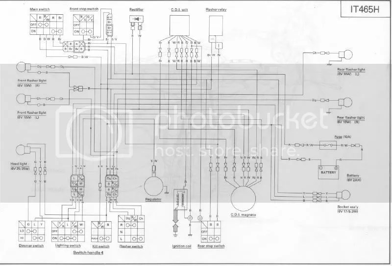 looking for a it 465 wiring harness