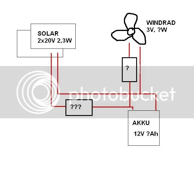 Stromlaufplan Garage
