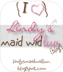 Lindy's maid wid luv, cardmaking