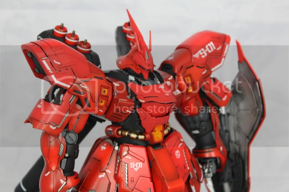Saz-ver.ka, Hajime Katoki, Sazabi ver Ka, hangar-mk, maquette gundam, HMK, gunpla