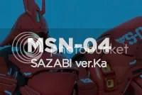 sazabi_ver_ka, Sazabi katoki