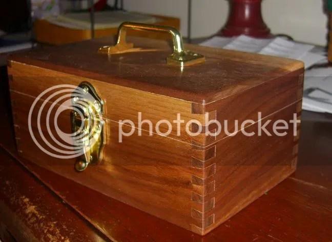 Wooden Pistol Range Box Plans