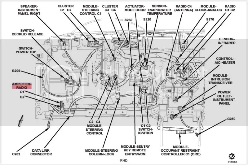 Wiring Diagram Dodge Avenger. Dodge. Auto Parts Catalog