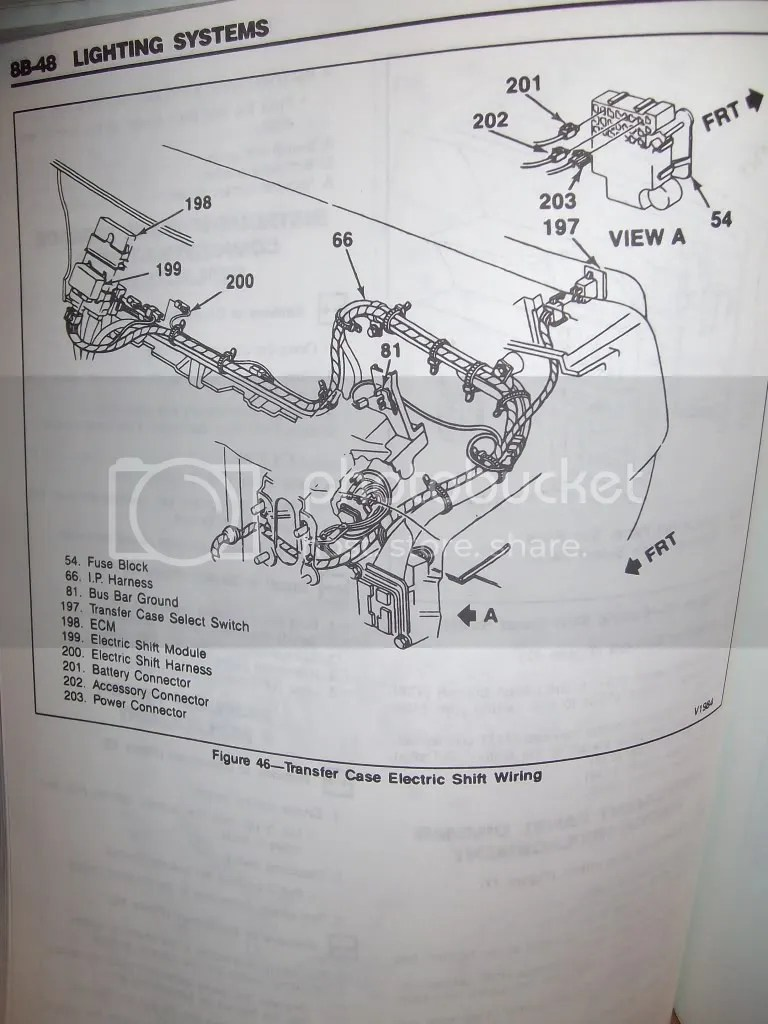 1988 S10 Fuse Box Diagram