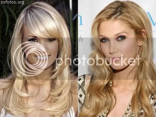 cortes de cabelo feminino longo com franja