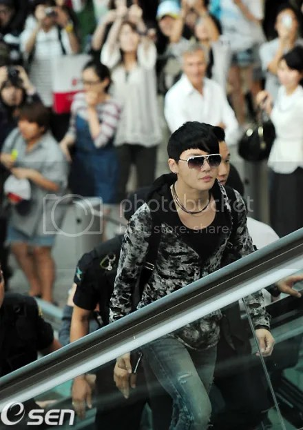 [PICS] 110613 JaeSu @ Incheon Airport