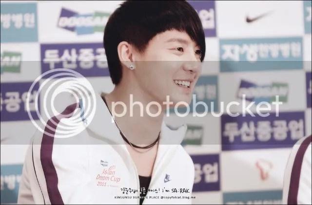 "[PICS] JaeSu at ""Asian Dream Cup 2011"" Press Conference, Part 2"
