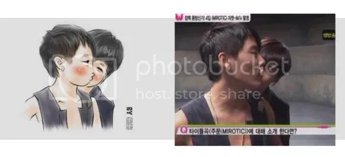 [SPAZZ] Which is cuter? Yoosu in real life or in fanart?