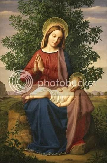 Julius Schnorr von Carolsfeld - Madonna and Child
