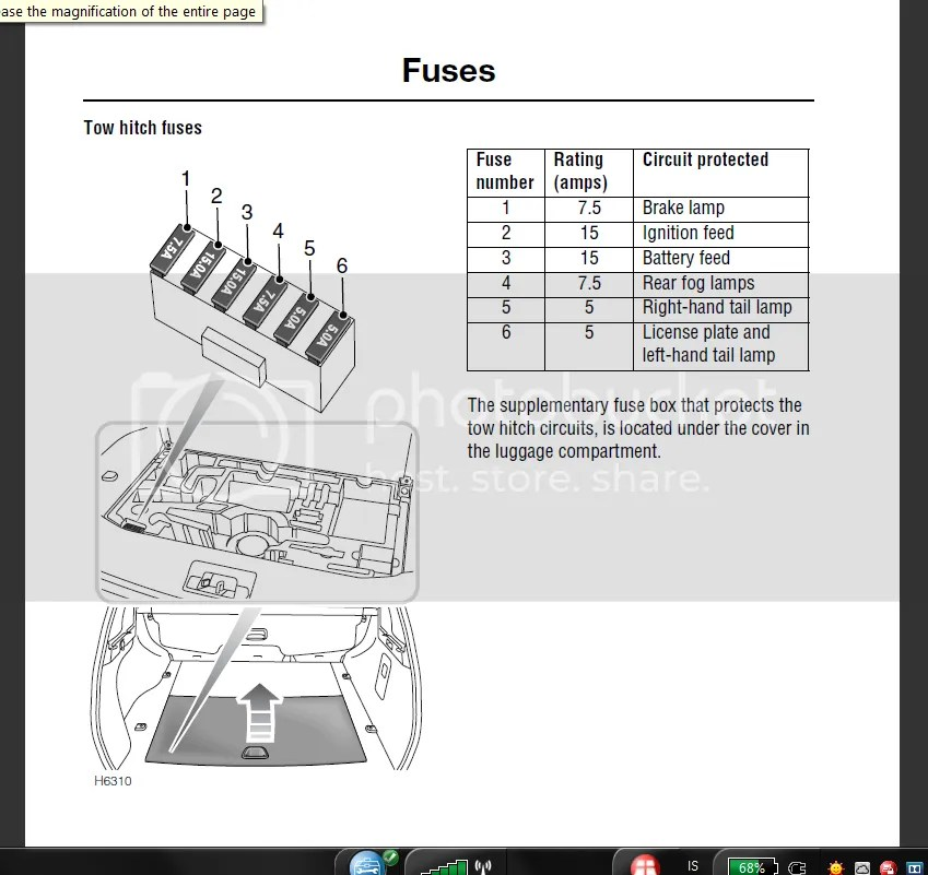 4 Wire Flat Trailer Wiring Diagram Which Fuse Is The License Plate Light