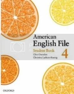 American English File 4 (Student book; Workbook with Multi-Rom; Class CDs; Test Generator CD-ROM)