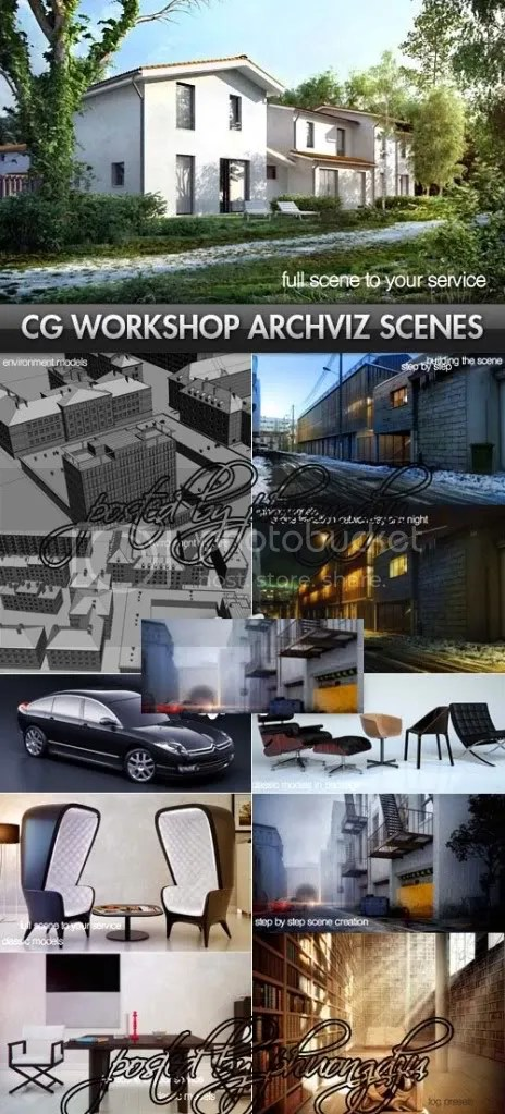 CGWorkshop - Interior & Exterior Architectural Visualization Scenes