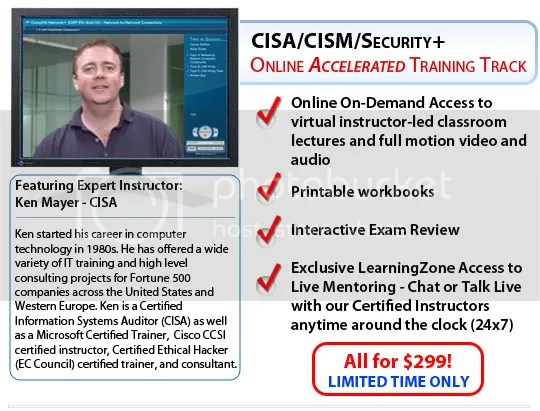 CISM Training - OnDemand Learning (2012)