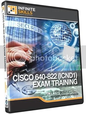 Infinite Skills – Cisco 640-822 (ICND1) Exam Training DVD